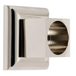 Manhattan Polished Nickel Shower Rod Brackets Sold In Pairs