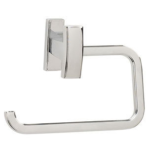 Arch Polished Chrome Single Post Tissue Holder