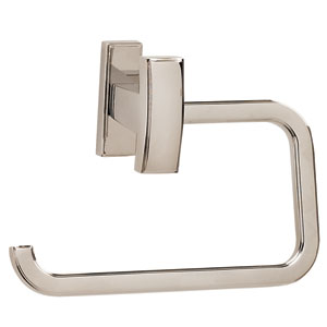 Arch Polished Nickel Single Post Tissue Holder