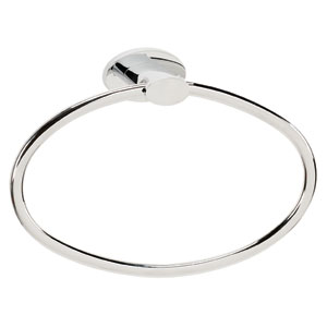 Contemporary III Polished Chrome Towel Ring