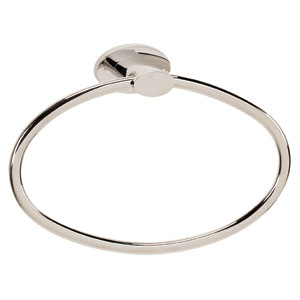 Contemporary III Polished Nickel Towel Ring