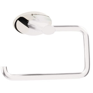 Contemporary III Polished Chrome Single Post Tissue Holder