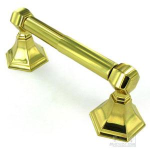 Nicole Polished Brass Tissue Holder