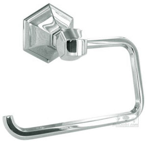 Nicole Polished Chrome Single Post Tissue Holder