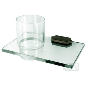 Nicole Barcelona Glass Tumbler w/Holder