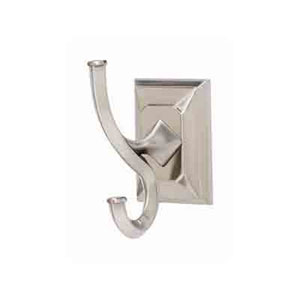 Geometric Polished Nickel Universal Robe Hook