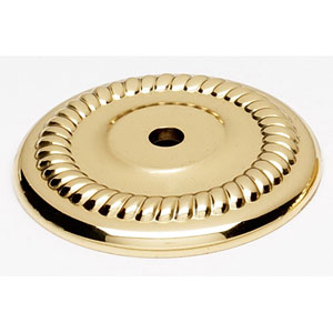 Polished Brass 1 1/2-Inch Backplate