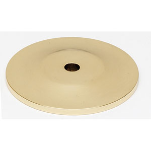 Polished Brass 1 1/4-Inch Backplate