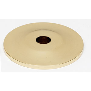 Polished Brass 1-Inch Backplate