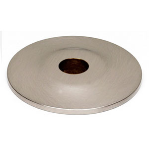 Satin Nickel 3/4-Inch Backplate