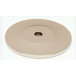 Polished Nickel 1 3/4-Inch Backplate