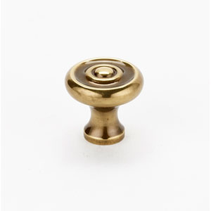Polished Antique 3/4-Inch Knob