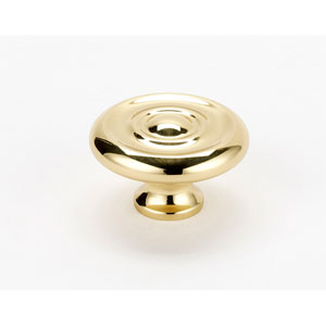 Polished Brass 1 3/4-Inch Knob