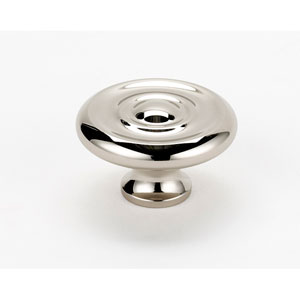 Polished Nickel 1 3/4-Inch Knob