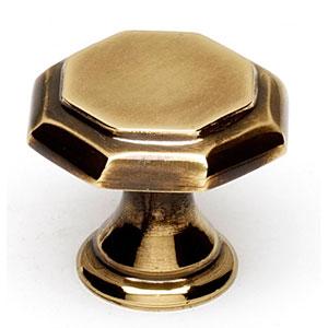 Polished Antique 1-Inch Knob