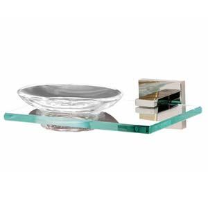 Contemporary II Polished Chrome Soap Dish