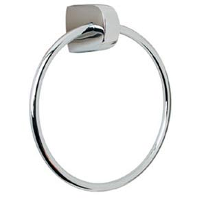 Euro Polished Nickel Towel Ring