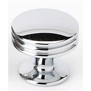 Polished Chrome 1-Inch Knob