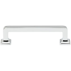 Polished Chrome 3 1/2-Inch Pull