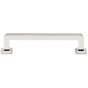 Polished Nickel 4-Inch Pull