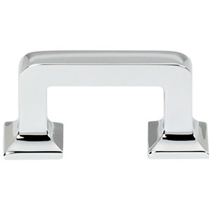 Polished Chrome 1 1/2-Inch Pull