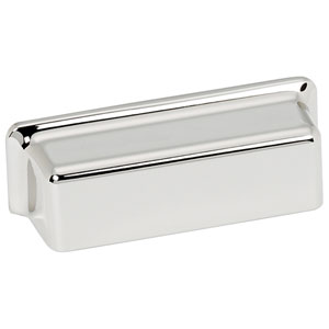 Polished Chrome 3-Inch Cup Pull