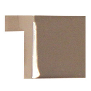 Polished Nickel Brass 0.75-Inch Tap Pull