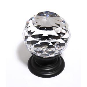 Crystal Bronze 30 mm Spherical Knob