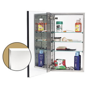 Stainless Steel Mirror Cabinet