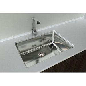 Kitchen Series Steel 10-Inch Single Bowl Undermount Sink
