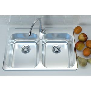 Stainless Steel 31 x 20 Overmount Sink