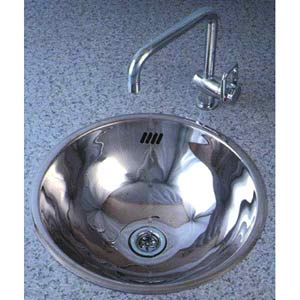 MS-002 Round Stainless Steel Vessel Sink