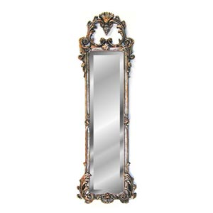 Shimmer Ornate Strip Mirror