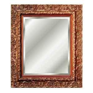 Inset Beveled Mirror