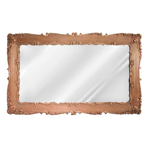 Decorative Bronze Rectangular Mirror