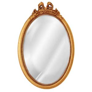 Oval Bow Mirror