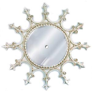 Provincial Acanthus Mirrored Ceiling Medallion