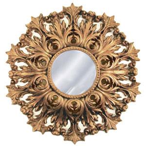 Rococo Antique Gold Mirror