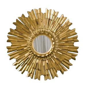 Eleganza 22-Inch Gold Leaf Mirror