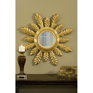 29-Inch Solare Gold Leaf Mirror
