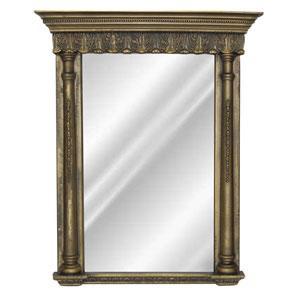 Gold Wash Acanthus Rectangular Mirror