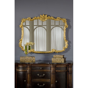 Buffet Gold Leaf Mirror