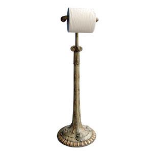 Verona Standing Acanthus Toilet Paper Holder