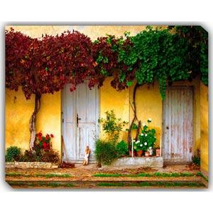 De La Boulangerie: 40 x 30 Outdoor Canvas Giclee