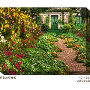 Artist Path: 40 x 30 Outdoor Canvas Art