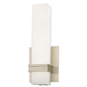 Satin Nickel 5-Inch LED Wall Sconce