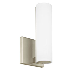 Radiance Satin Nickel One-Light LED Wall Sconce