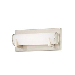 Madison Satin Nickel One-Light LED Bath Light