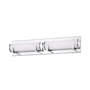 Madison Chrome Two-Light LED Bath Light
