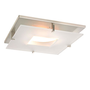 Plaza with Central Hole 11-Inch Recessed Light Shade